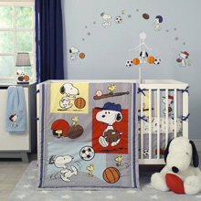 Bedtime Originals Snoopy™ Sports 3-Piece Bedding Set