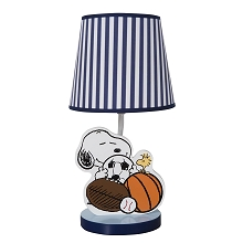Bedtime Originals Snoopy™ Sports Lamp with Shade & Bulb