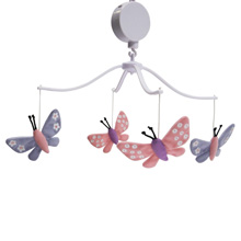 Bedtime Originals Butterfly Meadow Musical Mobile