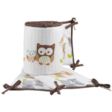 Bedtime Originals Friendly Forest 4 Piece Crib Bumper