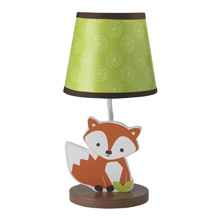 Bedtime Originals Friendly Forest Lamp with Shade