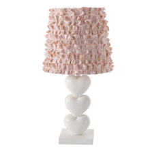 Lambs & Ivy Felicity Lamp with Shade and Bulb