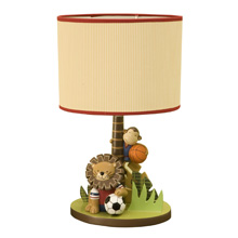 Lambs & Ivy Team Safari Lamp with Shade and Bulb