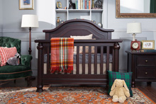 Million Dollar Baby Strathmore  Crib, Double Dresser, Nightstand Dark Espresso