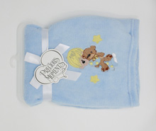 Mon Cheri Baby Precious Moments Blanket, Boy