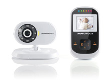 Motorola Digital Wireless Video Baby Monitor with 1.8-Inch Color LCD Screen and Infrared Night Vision