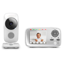 Binatone by Motorola Video Baby Monitor 2.8in White