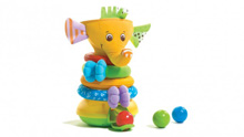Tiny Love Musical Stack and Ball Game, Elephant