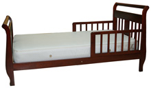 Angel Line Sleigh Toddler Bed, Cherry