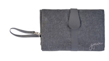 JJ Cole Changing Clutch Gray Heather