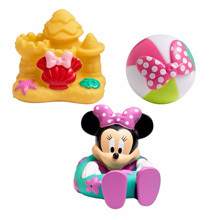 Disney Baby Minnie Bath Squirt Toys