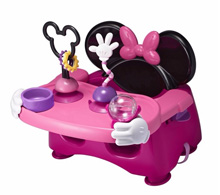 Disney Baby Minnie Mouse Helping Hands Feeding & Activity Seat