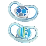 Tommee Tippee Closer to Nature® Air Shield Blue/Green Silicone Pacifer 6-18 Months - 2 Pack