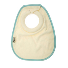 Tommee Tippee Closer to Nature Milk Feeding Bib, Blue - 2 PK
