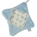Triboro Soothe Time Splash Cloth in Blue