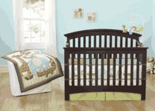 Just Born Jungle Jubilee 8-Piece Bedding Set