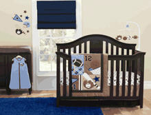 Just Born Touchdown 6 Piece Crib Set