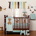 Cuddletime Puppy on the Go 4-Pc Bedding Set - Boy
