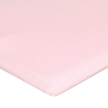 Carters Jersey Cotton Bassinet Fitted Sheets - Lightly Pink