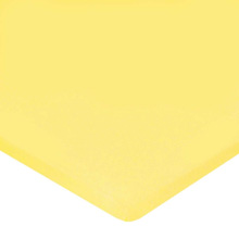 Carters Jersey Cotton Bassinet Fitted Sheets - Yellow
