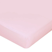 Carters Jersey Fitted Crib Sheets - Lighter Pink Blossom