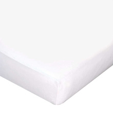 Carters Jersey Fitted Crib Sheets - White