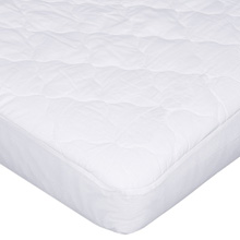 Carters 4-Ply Waterproof Quilted Fitted Crib Mattress Pad