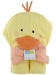 Just Born Duck Hooded Towel