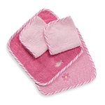 Just Born Washcloth Set Fish (Girl)