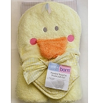 Just Born Puppet head Towel Set - Duck