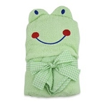 Just Born Puppet head Towel Set - Frog