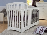 Pali Trieste Forever Crib in White