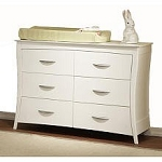 Pali Design Trieste Double Dresser in White