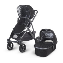 Uppababy Vista 2015 Stroller - Jake (Black/Carbon)
