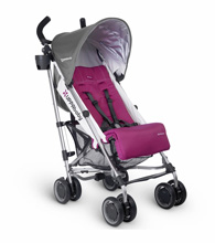 Uppababy G-Luxe Stroller - Makena (Purple/Silver)