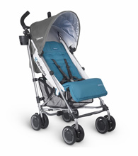 Uppababy G-Luxe Stroller - Sebby (Teal/Silver)