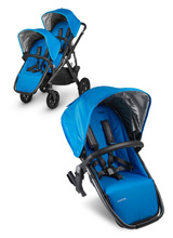 Uppababy Vista RumbleSeat - Georgie (Marine Blue/Carbon)