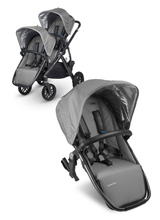 Uppababy Vista RumbleSeat - Pascal (Grey/Carbon)