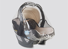 Uppababy Mesa Infant Car Seat Rainshield