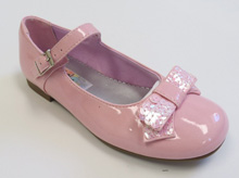Rachel Haily Shoe in Pink Patent