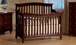 Pali Wendy Forever Crib in Chocolate