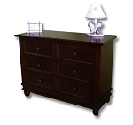 Pali Wendy Double Dresser in Chocolate