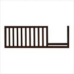 Pali Wendy Toddler Rail in Chocolate