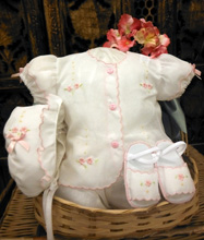 Willbeth Diaper Set 4-Pieces Girl