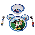 Learning Curve 4PC Feeding Set Mickey Mouse 9MOS+