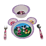 Learning Curve 4PC Feeding Set Minnie Mouse 9MOS+
