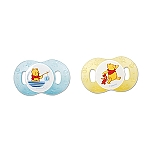 Learning Curve 2PK Newborn Pacifier Pooh OM+