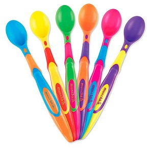 Six Soft-Tip Infant Spoons