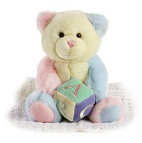 Aurora ABCs Musical Bear Plush