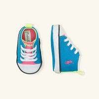 Polo Ralph Lauren Harbour Hi Top Sneaker Turquoise